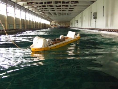 Towing Tank – Seakeeping Experiment